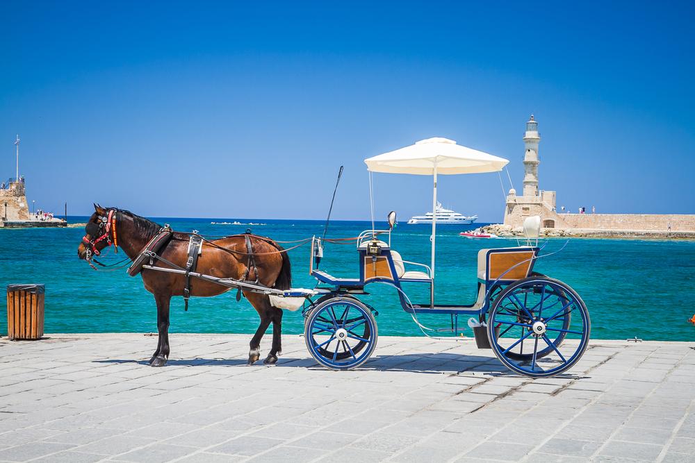 horse-drawn-carriage-chania-crete-greece