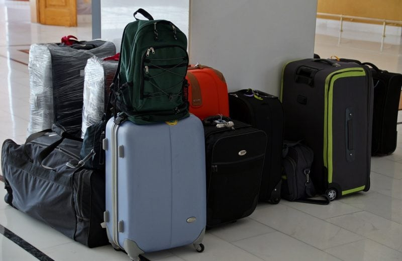 travel nightmares: lost luggage