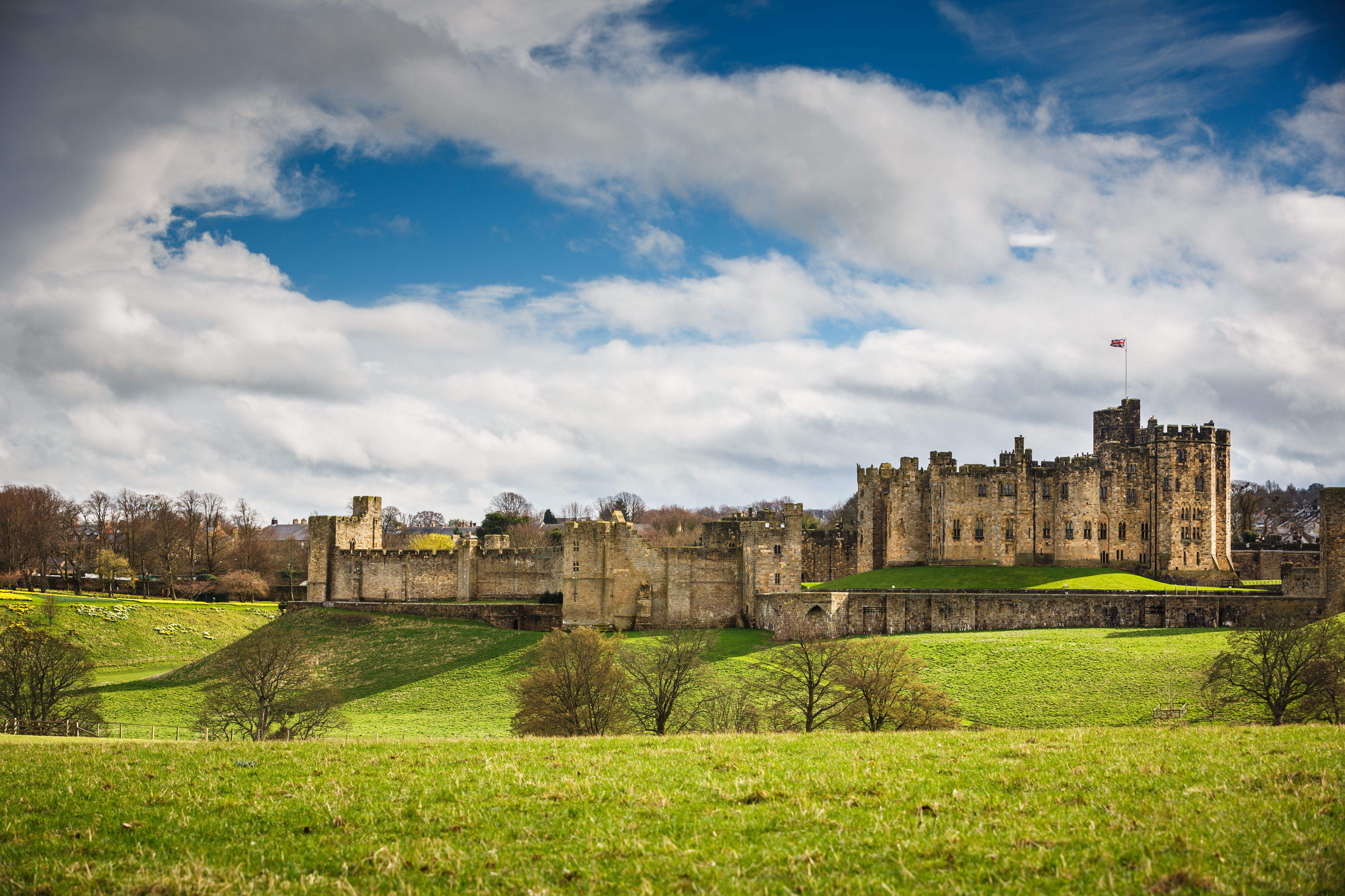 most impressive castles alnwick castle england