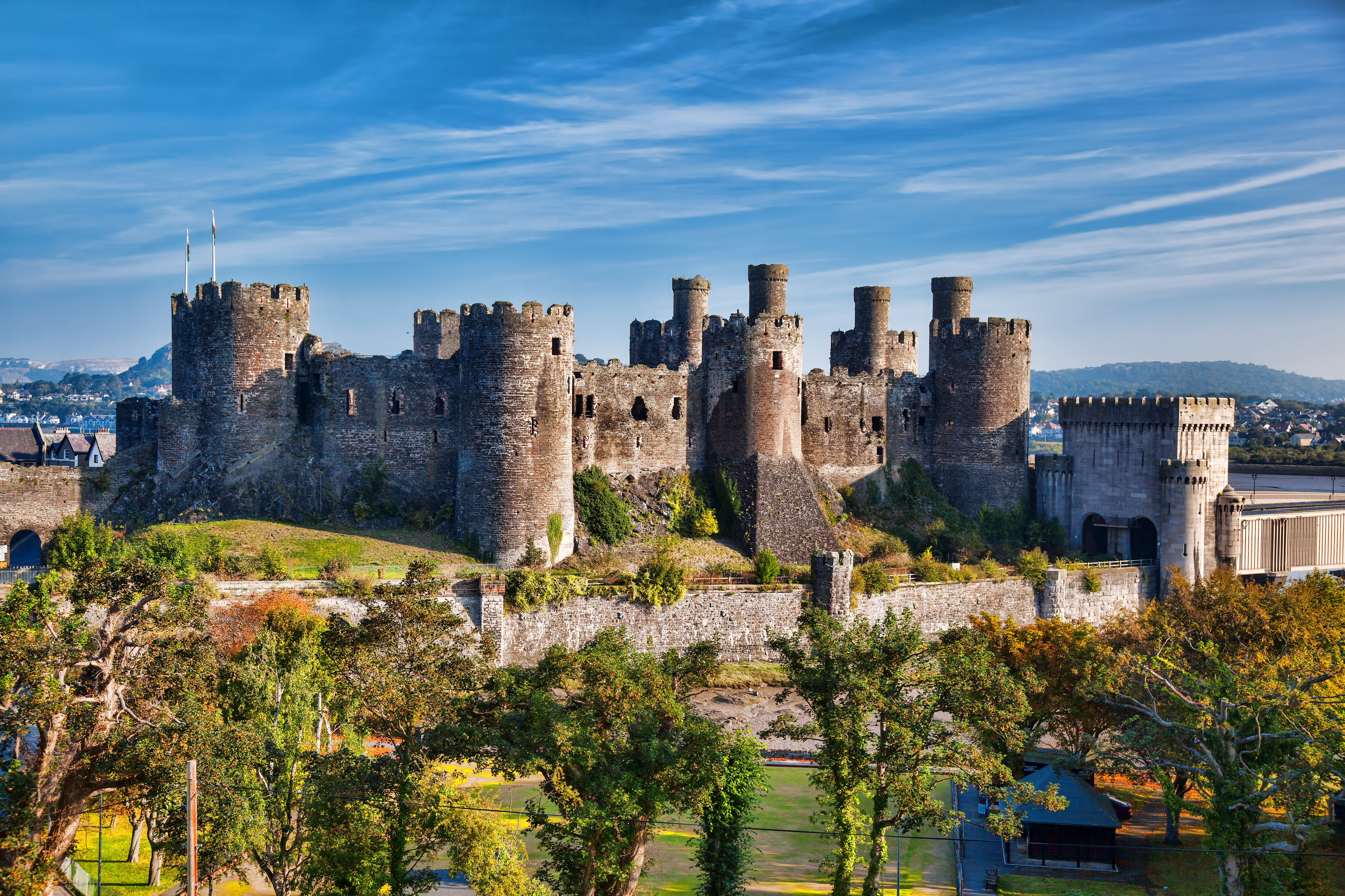 most impressive castles conwy castle england
