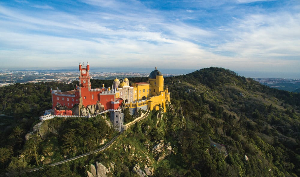 most impressive castles pena palace portugal