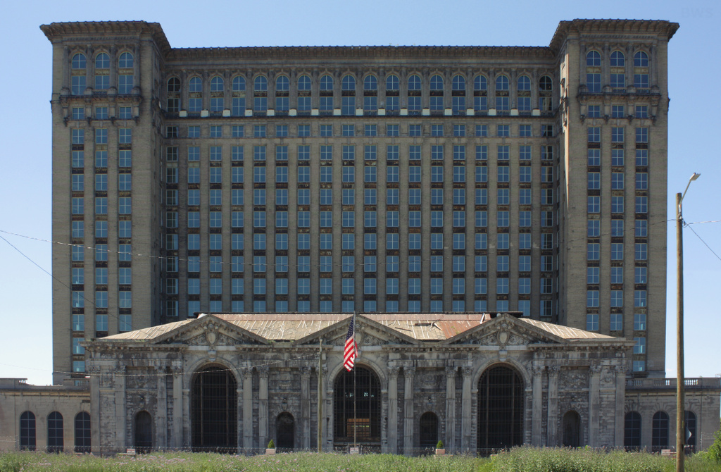 abandoned places michigan central station michigan
