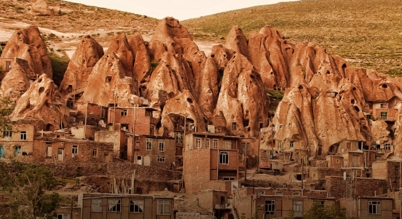 Kandovan among extreme places