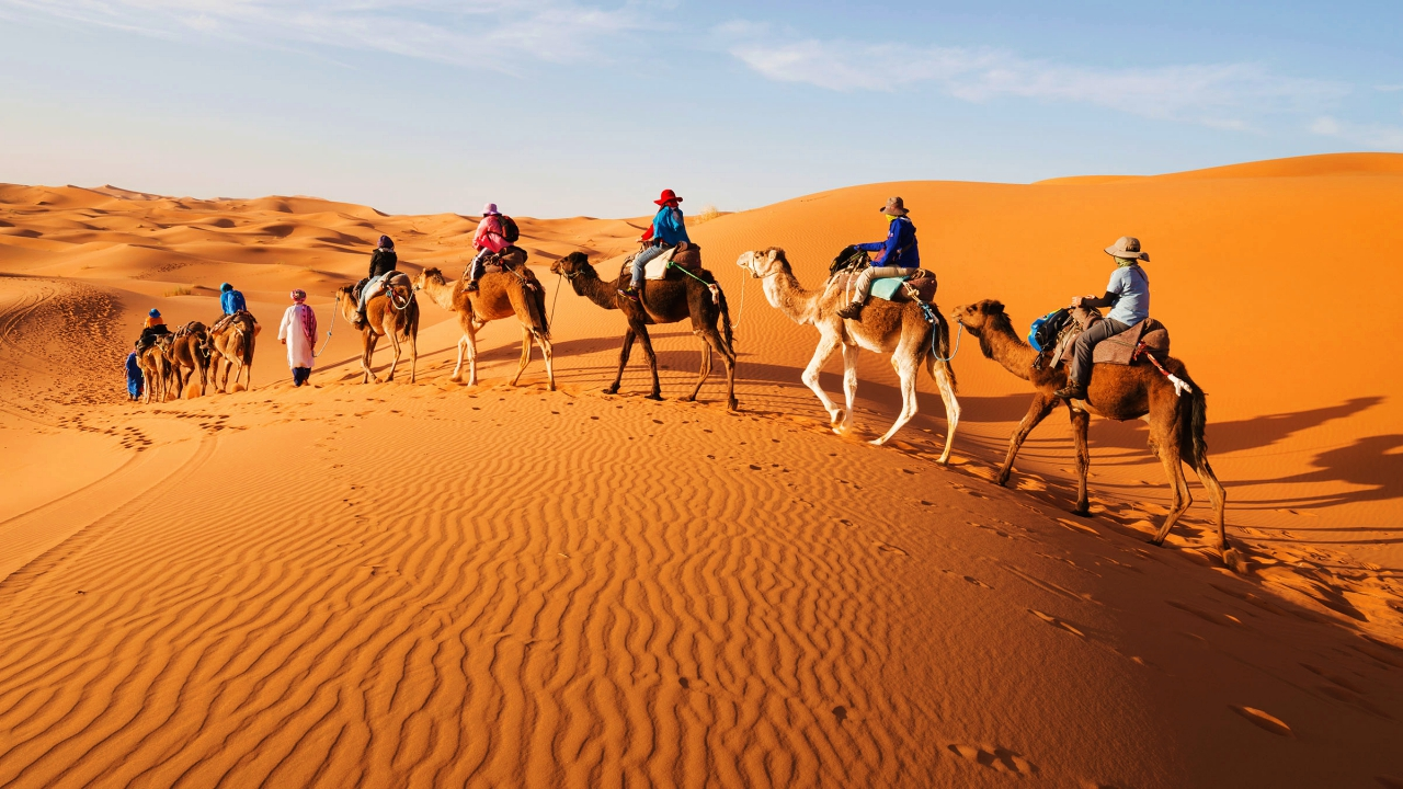 Sahara Desert among extreme places