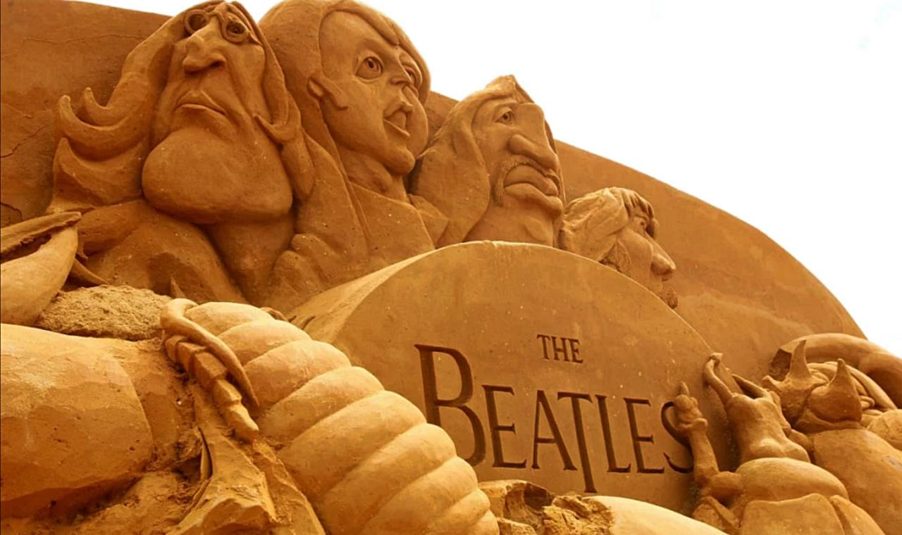 Beatlemania among sandcastles