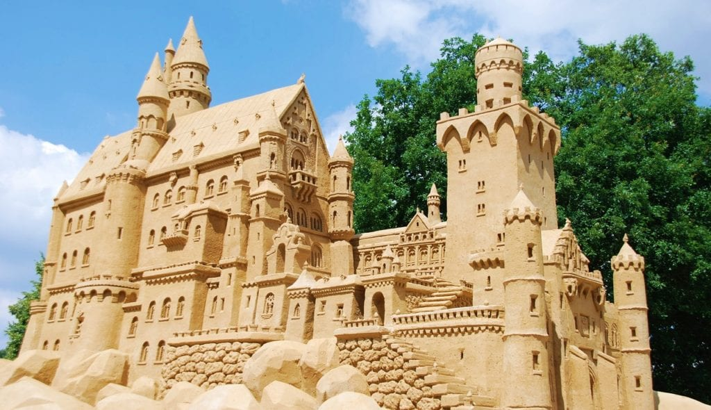 Mind-Blowing Sandcastles