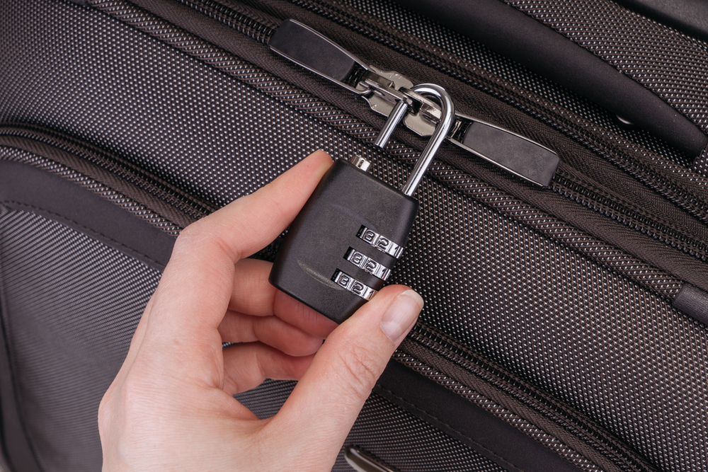 secure your luggage