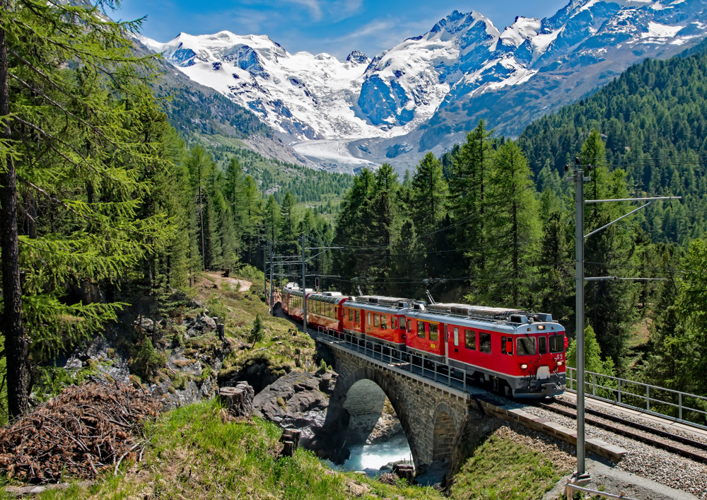 Bernina Express - Switzerland