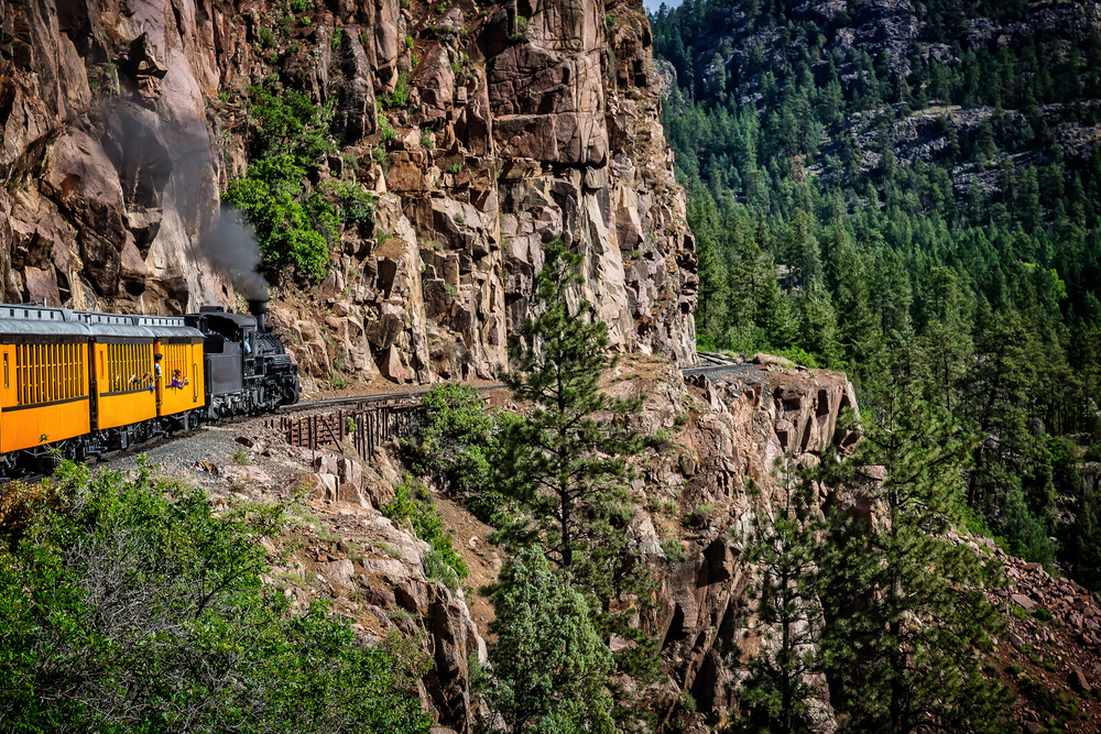 Coming Around the Mountain/The Durango Silverton Narrow Gauge Railroad