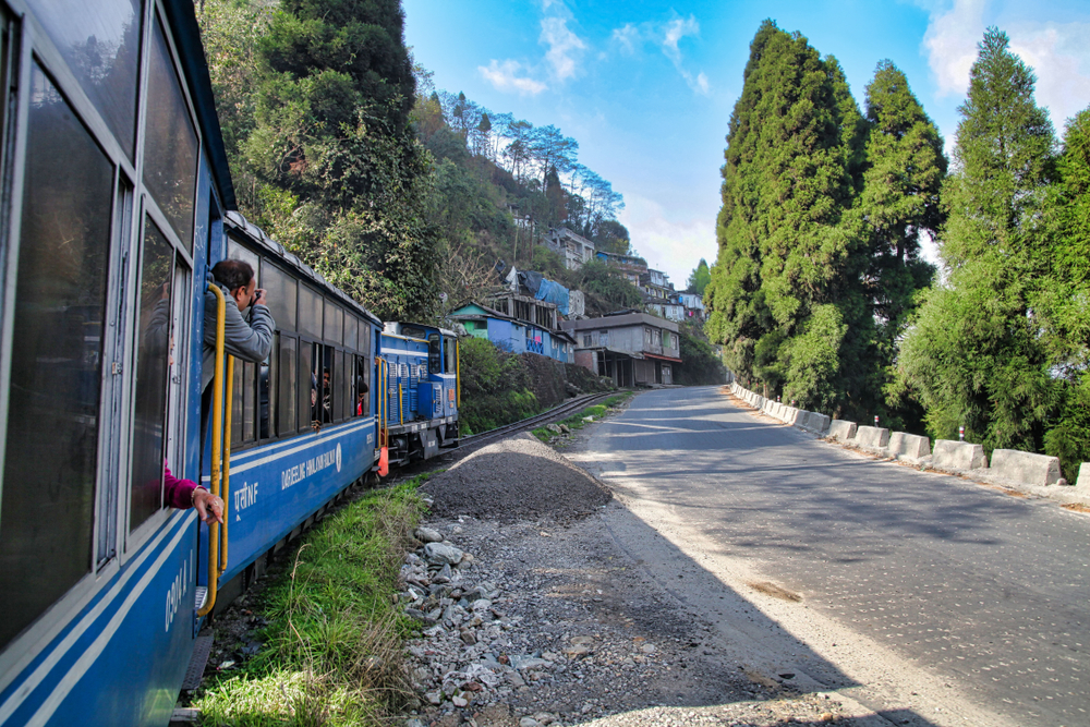 Darjeeling Himalayan Railway, also known as the Toy Train