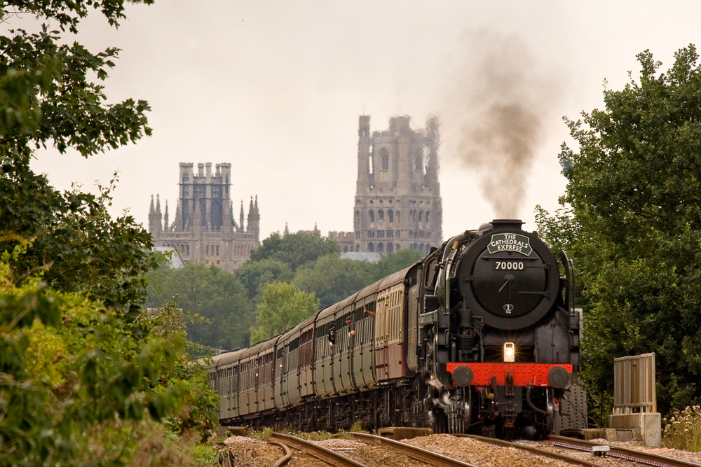 Steam Dreams 'The Cathedrals Express' rail to Norwich