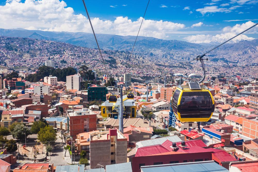 teleferico in la paz bolivia
