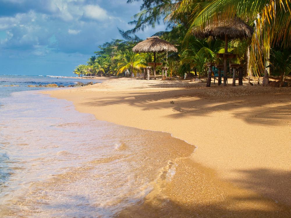 Camp Bay beach, Roatan Honduras