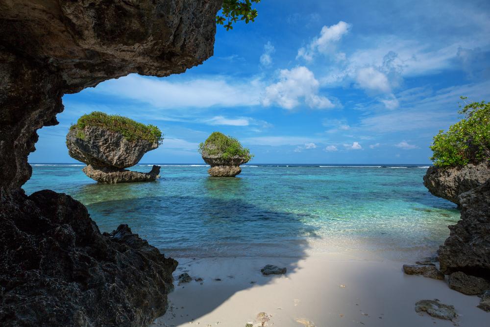 Tanguisson Beach on the tropical island of Guam