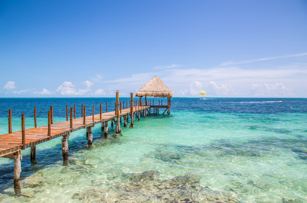 Mexico Tropical Beach location