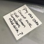 Woman Finds Post-It Notes In Her Home And Doesn't Know Where They Came From