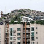 Professor Builds Dream Mountain Villa On Top Of Apartment Block
